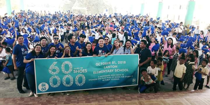 SM City General Santos joins the nationwide 60,000 shoes turn-over drive