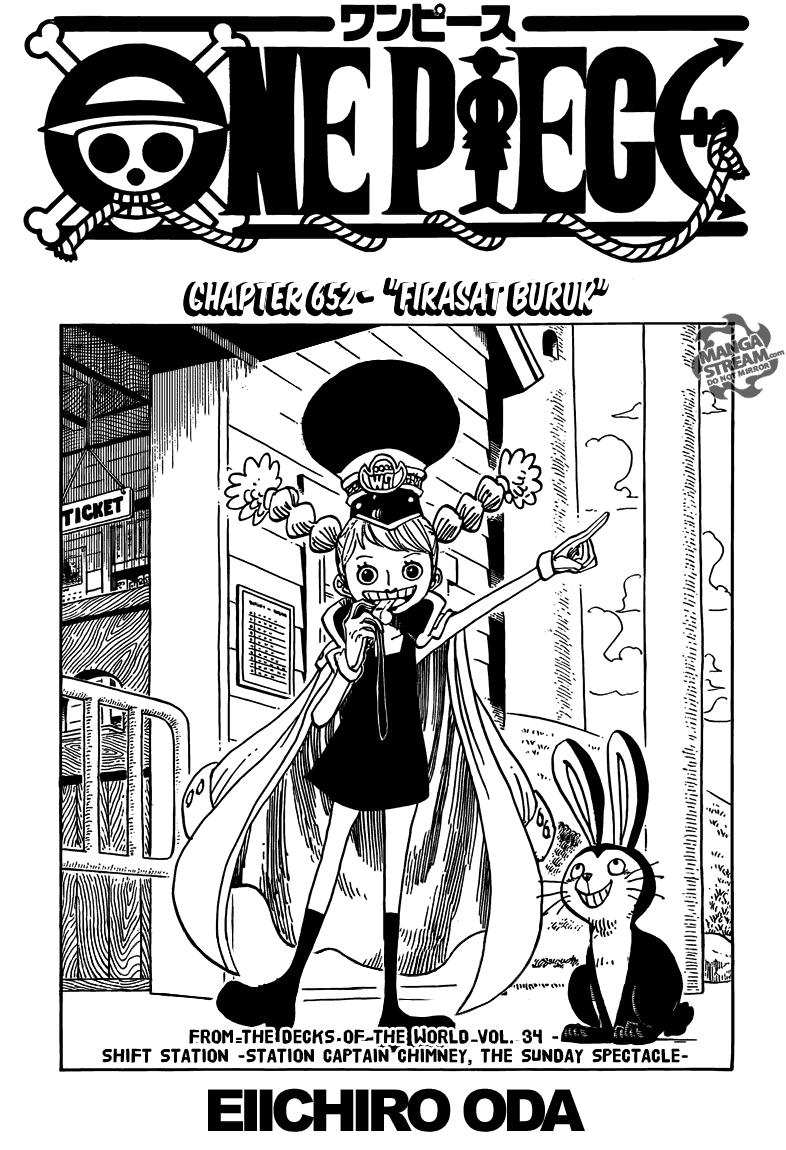 Page01 One Piece 652   Firasat Buruk