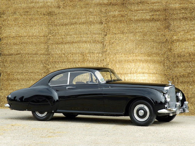 Bentley Continental R 1950s British classic saloon car