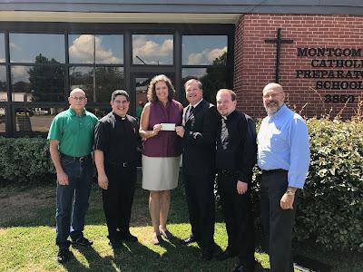 The Knights of Columbus Continued Generosity to Montgomery Catholic Preparatory School 1