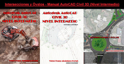 Intersecciones y Óvalos (Glorietas) - Manual AutoCAD Civil 3D (Nivel Intermedio)