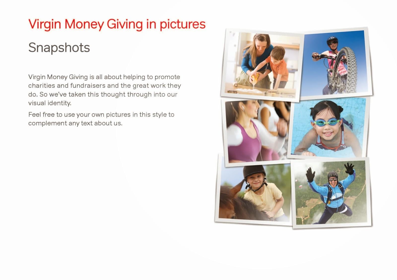 Virgin Money Giving in Pictures