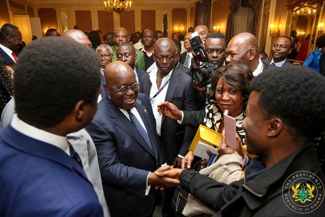 PHOTOS: When Nana Addo met Ghanaians in Geneva