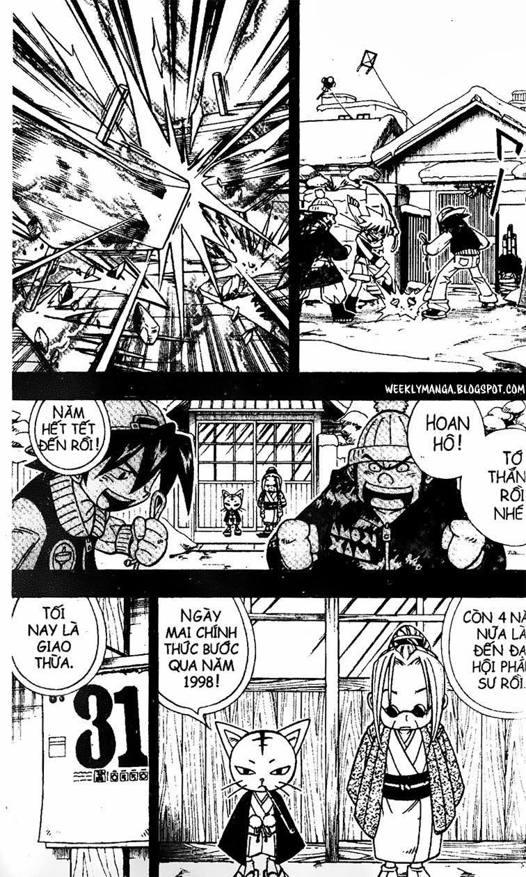 Shaman King [Vua pháp thuật] chap 167 trang 7