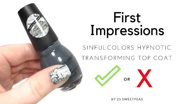 SinfulColors Hypnotic Transforming Top Coat