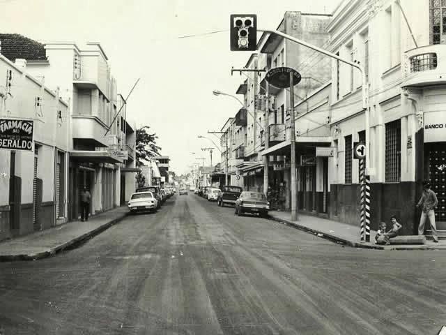 Avenida Presidente Olegário Maciel década de 70