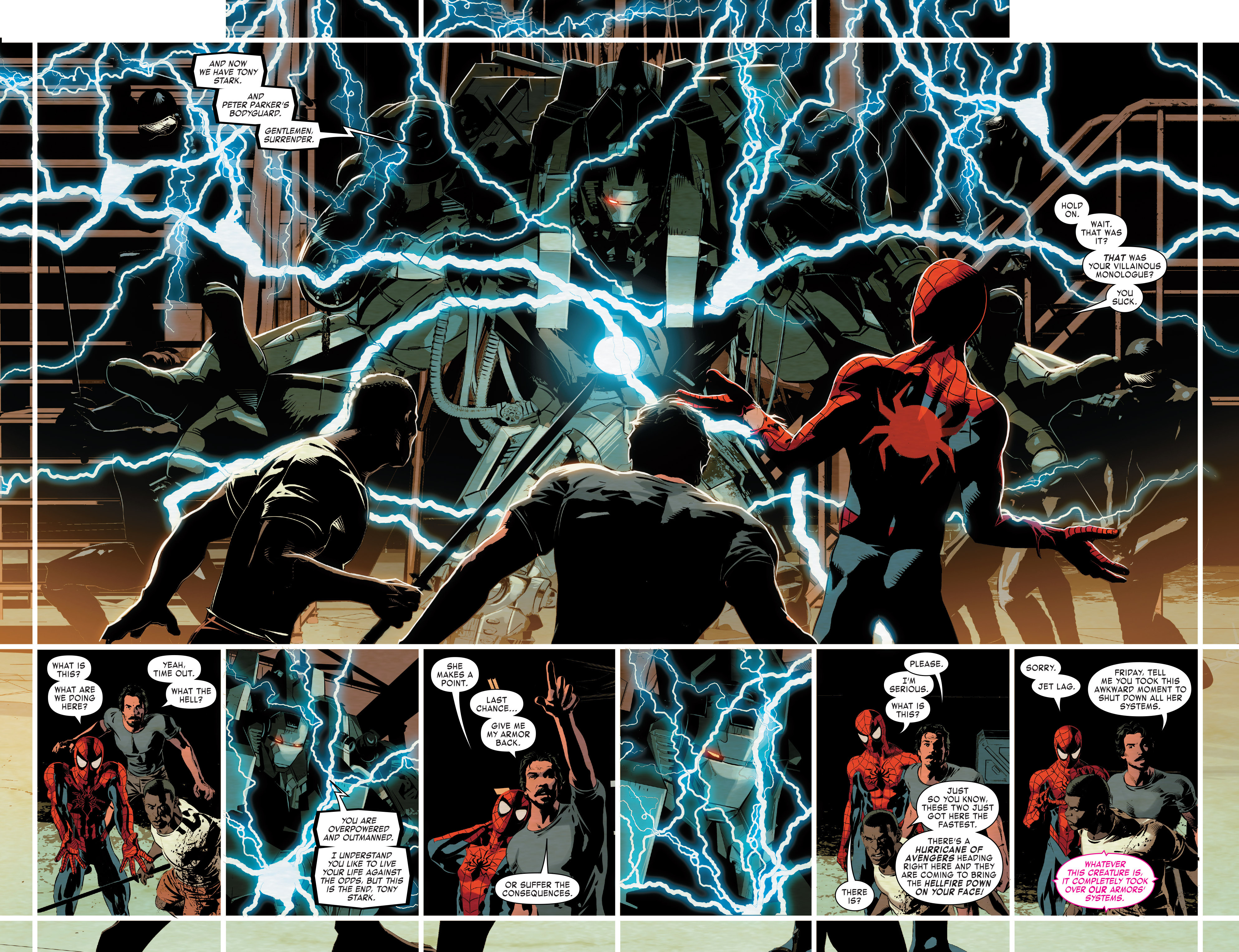 Read online True Believers: Invincible Iron Man-The War Machines comic -  Issue # Full - 62