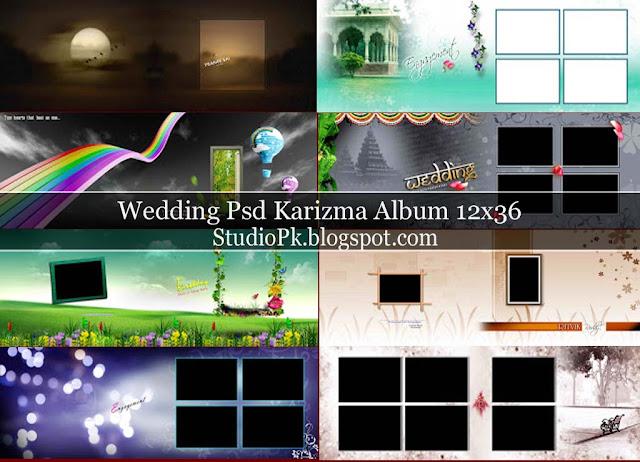 Karizma Album Psd Vol 03