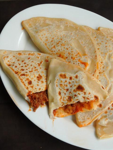 Kutab, Qutab, Azerbaijan Stuffed flatbread