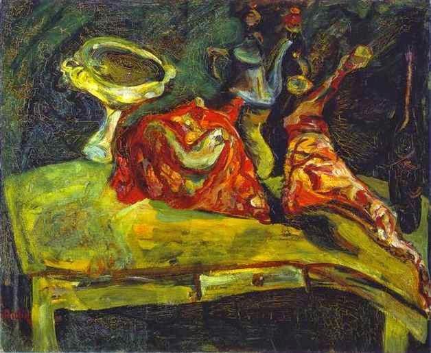 A Tabela - Chaïm Soutine e seu expressionismo violento e atormentado