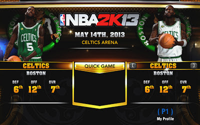 NBA 2K13 Celtics Accessories Fix