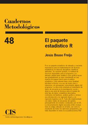 El paquete estadístico R de Jesús Bouso Freijo.