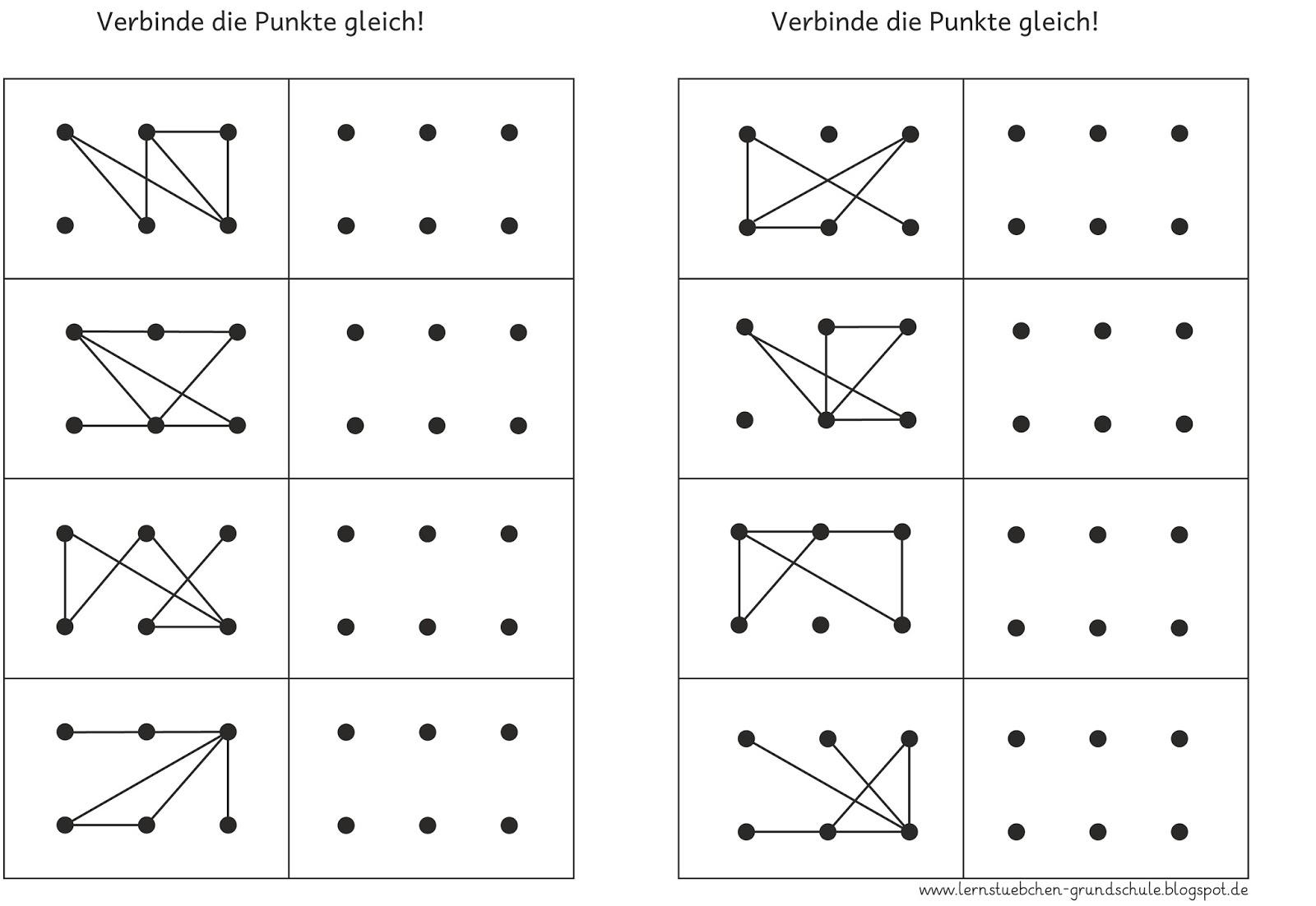 Punkte verbinden 6 Punkte-3