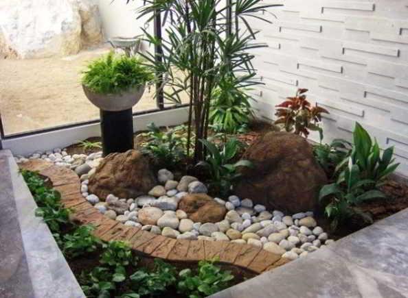 Desain Taman Minimalis Dalam Rumah