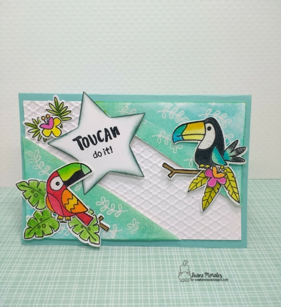 Toucan do it! by Diane features Toucan Party by Newton's Nook Designs; #newtonsnook
