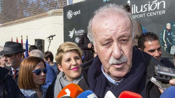 Del Bosque opina sobre la sede de la final de Copa del Rey