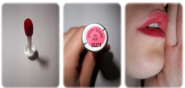 Swatch Touche de couleurs pour lèvres Stainiac - the Balm - Teinte Prom Queen
