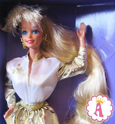 Barbie Hollywood Hair, кукла 1992 года выпуска