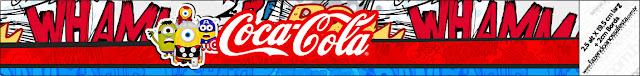 Etiqueta Coca-Cola para Imprimir Gratis de Minions Super Héroes.