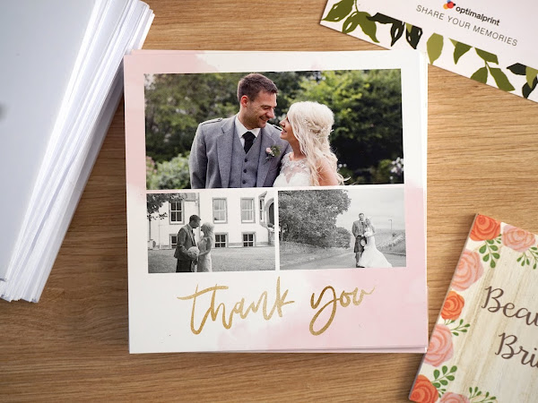 Optimal Print | Wedding Thank You Cards