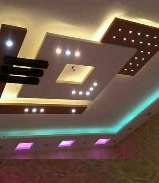 Latest 60 Pop False Ceiling Design Catalog With Led Lighting 2019