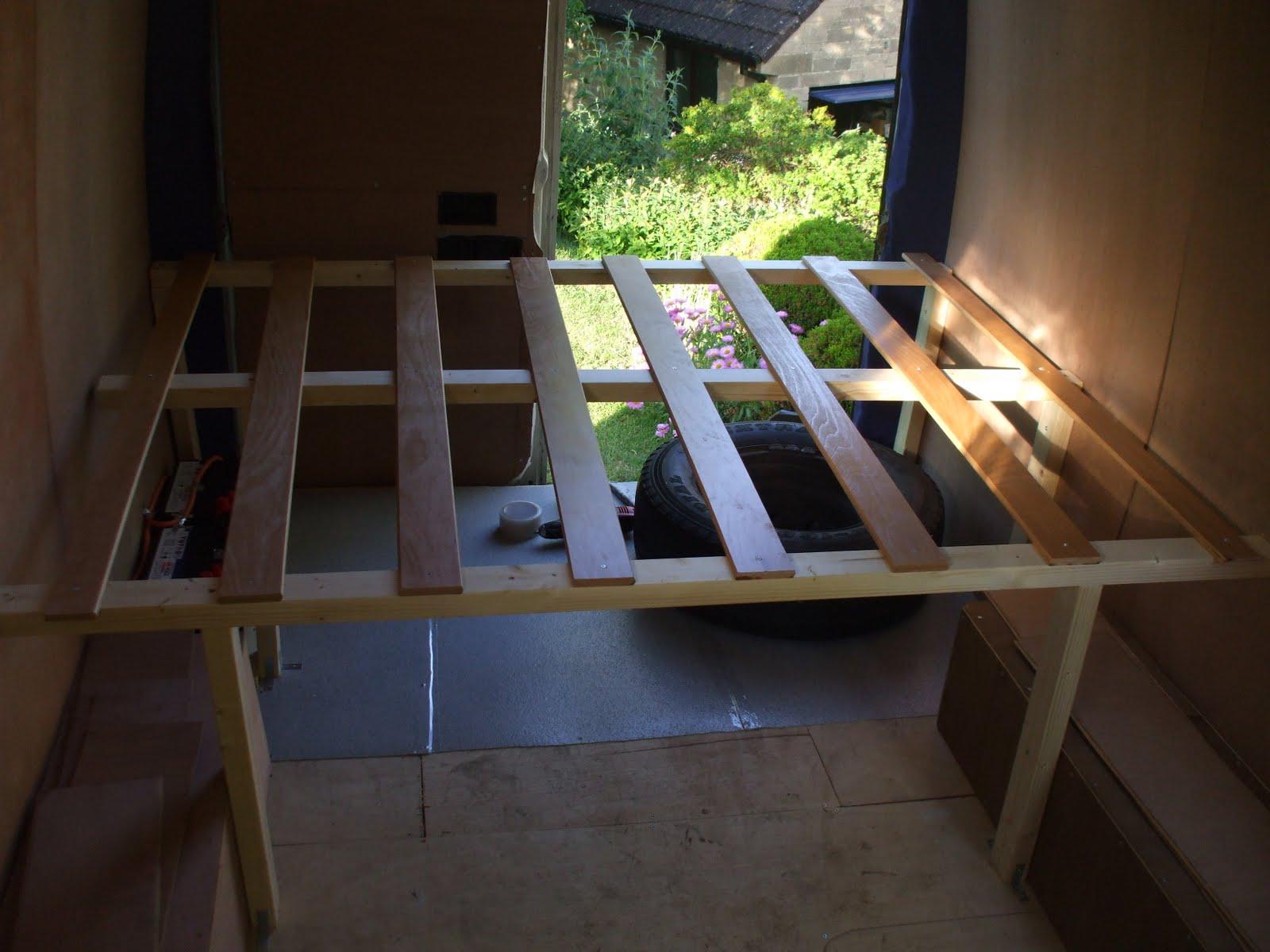 jodie and keef 39 s campervan project building furniture. Black Bedroom Furniture Sets. Home Design Ideas