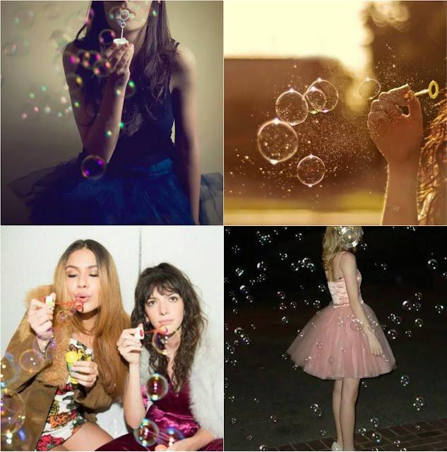 Inspiração: Fotos com bolhas de sabão
