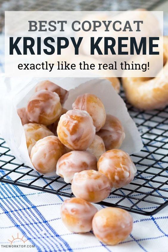 Glazed Donuts (Krispy Kreme Recipe Copycat)