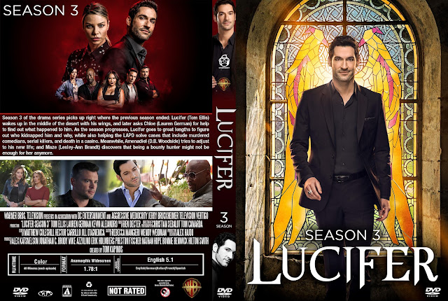 Lucifer Season 3 DVD Cover