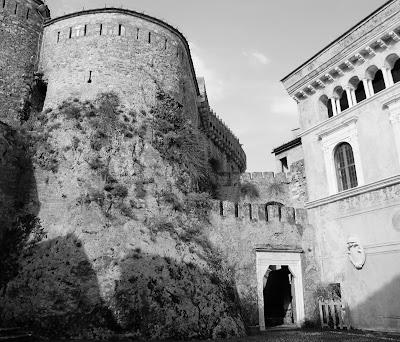 Malaspina Castle, Massa, Tuscany.