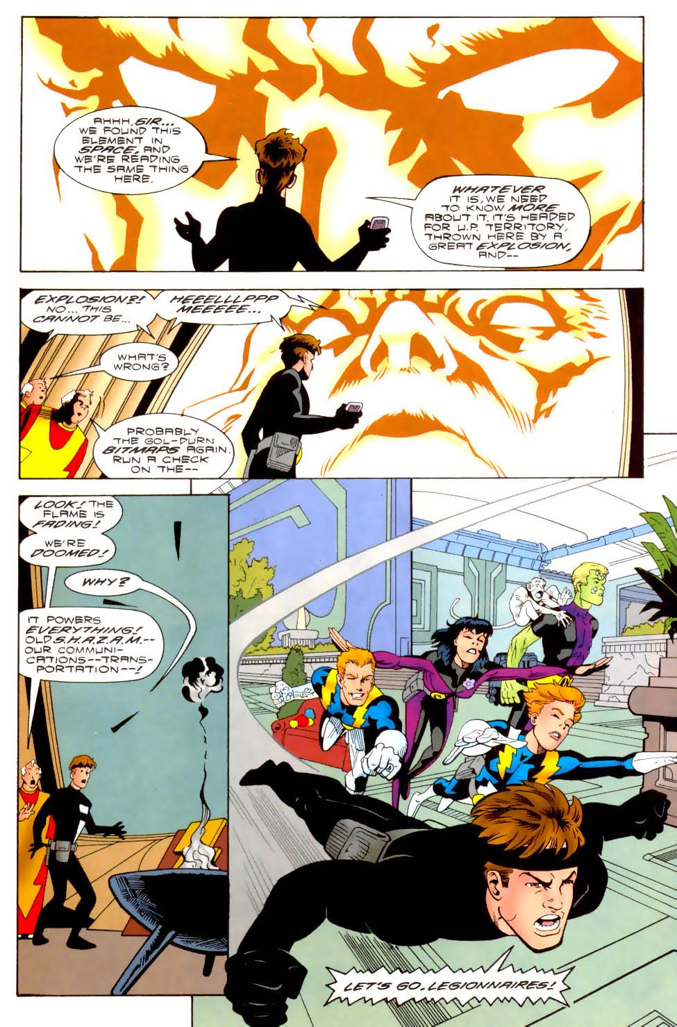 Legion of Super-Heroes (1989) 110 Page 14