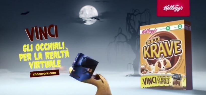Canzone Kellogg's Choco Krave pubblicità vinci gli occhiali per la realtà virtuale - Musica spot Ottobre 2016