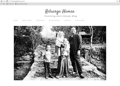 Sosok April Hamsa dan Keluarga Hamsa