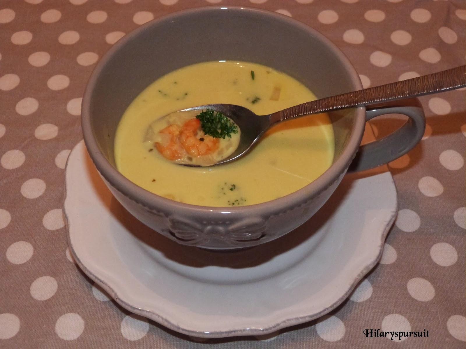 Soupe de crevettes à la créole