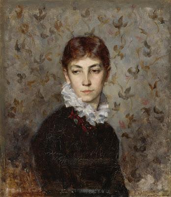 Hilda Wiikin Muotokuva (1880), Maria Wiik