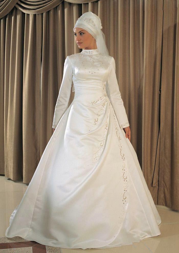Gaun Pengantin Muslimah Paling Elegan Kumpulan Model Kebaya Modern