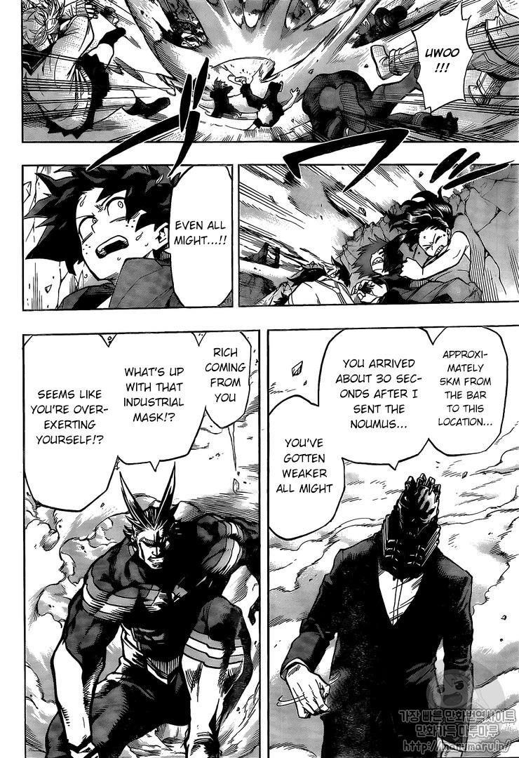Boku no Hero Academia - Chapter 105
