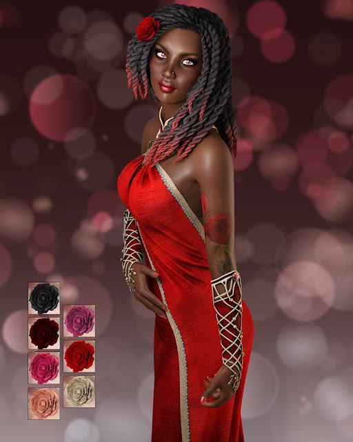 Rose for Genesis 3 Female