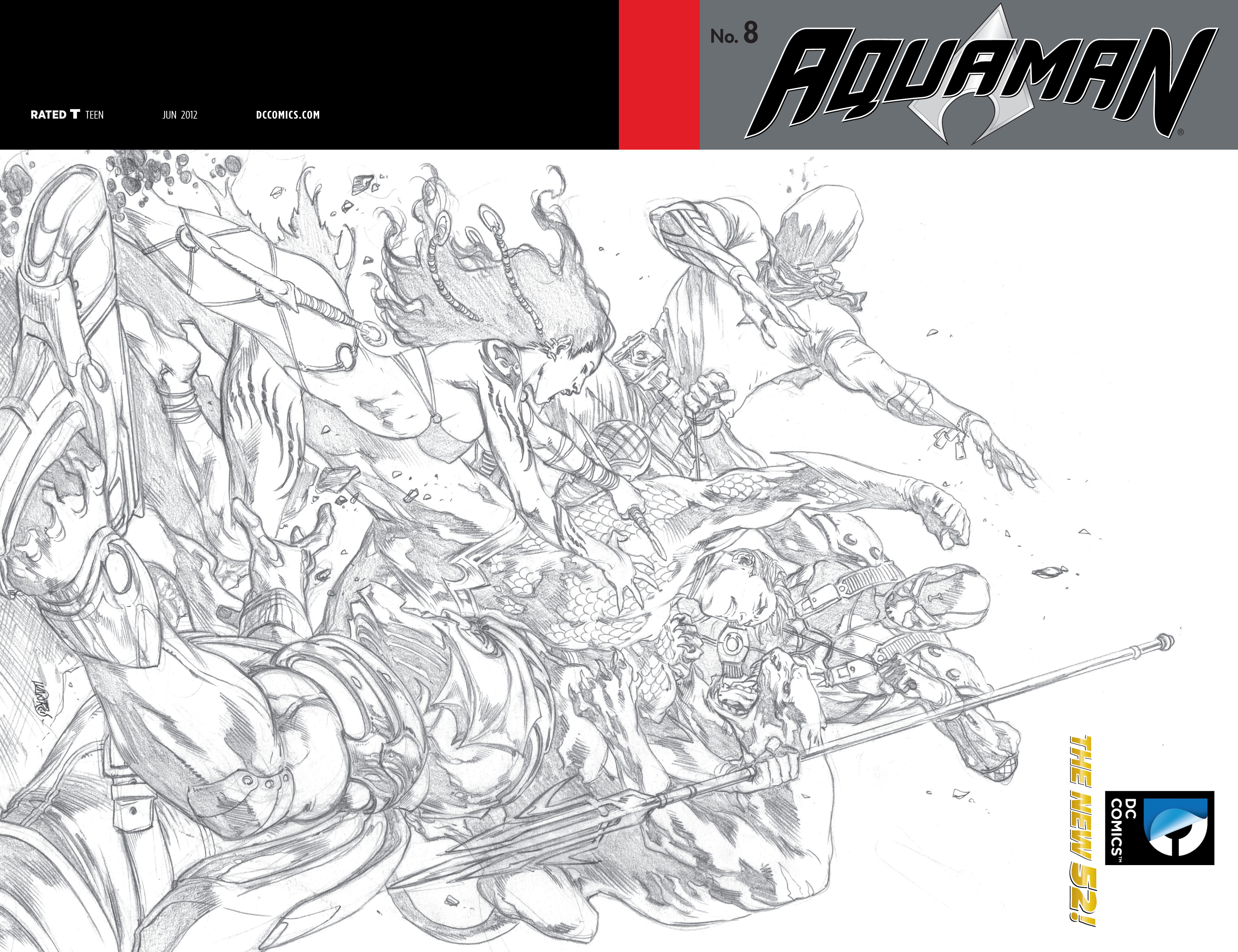 Read online Aquaman (2011) comic -  Issue #8 - 2