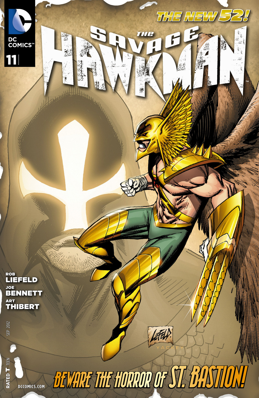 The Savage Hawkman issue 11 - Page 1