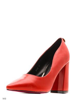Tacones Rojos de Moda para Mujer