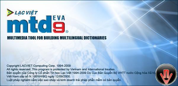 lạc việt mtd9 eva, từ điển Anh - Việt