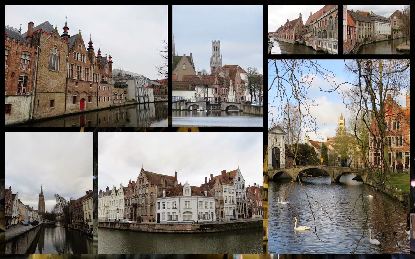 15 Reasons to Visit Bruges for Christmas: Canals