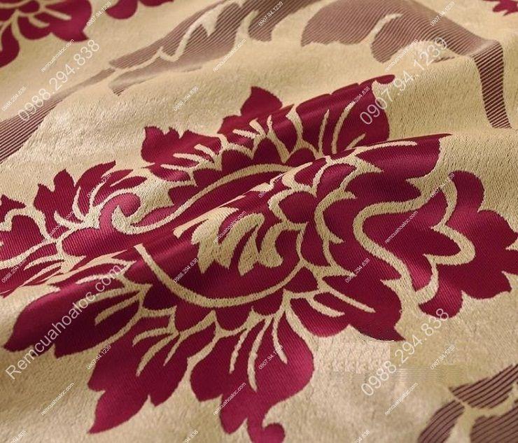 Rèm vải đẹp hà nội vector hoa đông á 8