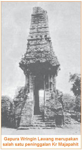 Seni Bangunan Peninggalan Kerajaan Hindu-Buddha di Indonesia - Gapura
