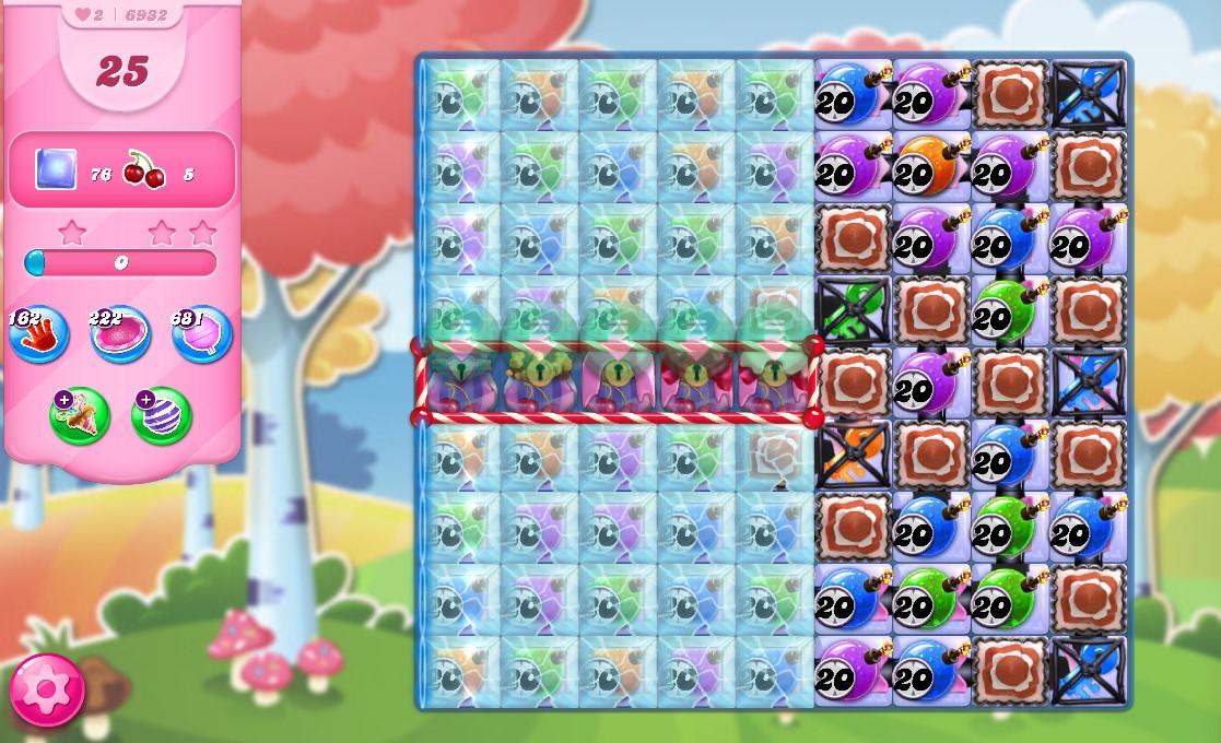 Candy Crush Saga level 6932