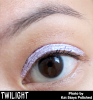 Jesse's Girl Cosmetics - Fluid Shadows - Twilight | Kat Stays Polished