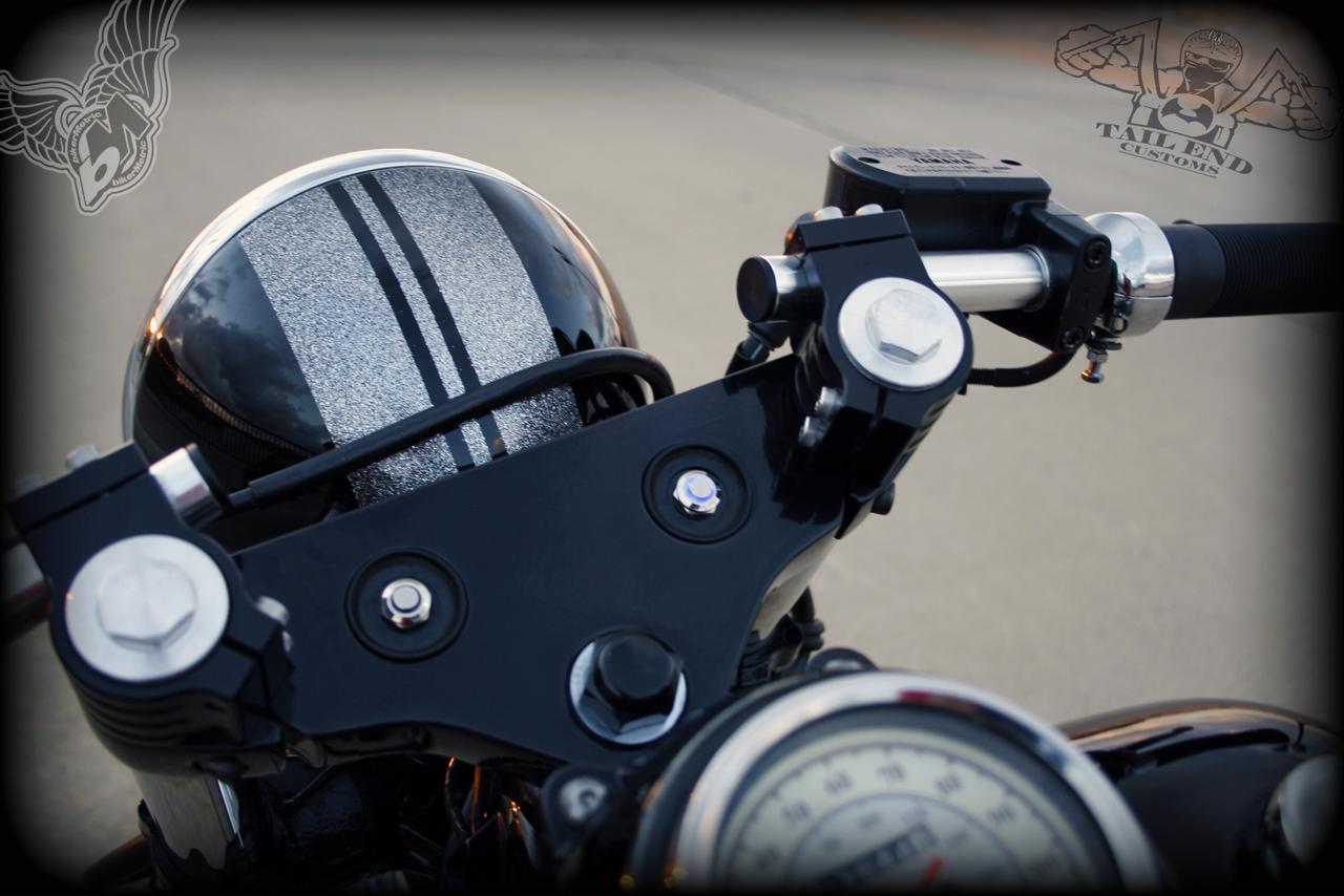 yamaha v-star 650 bobber | tail end customs - bikerMetric