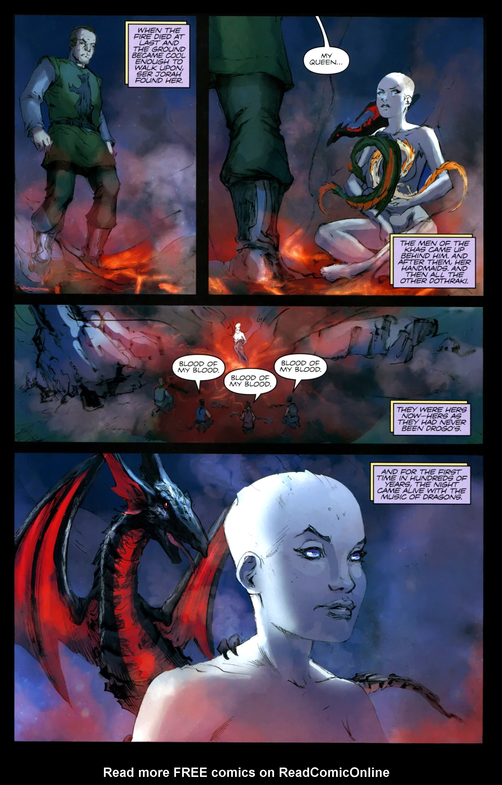 Read online A Game Of Thrones comic -  Issue #24 - 31