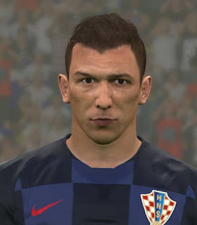 PES 2017 Faces Mario Mandžukić by Ben Hussam FaceMaker